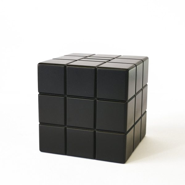 Uniquely Geek Rubrics Cube coin bank blank sides