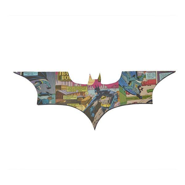 Uniquely Geek Batman Begins logo comic book wall art