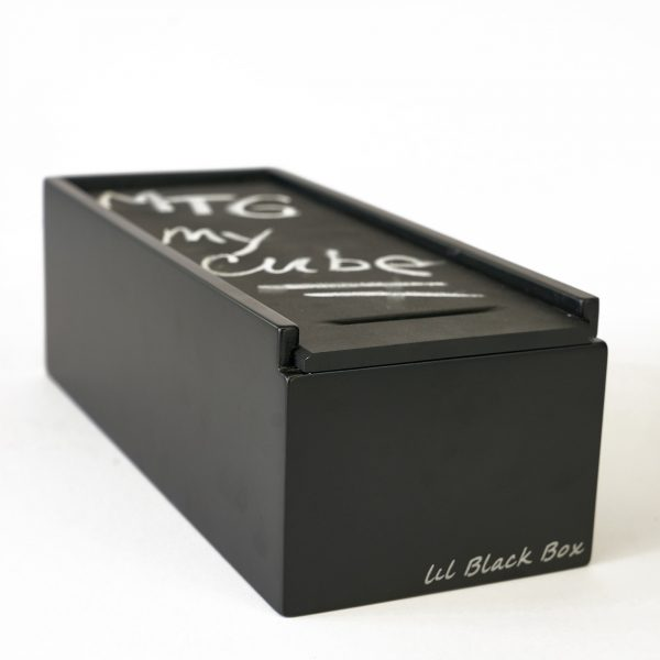 Uniquely Geek lil black box trading card cube
