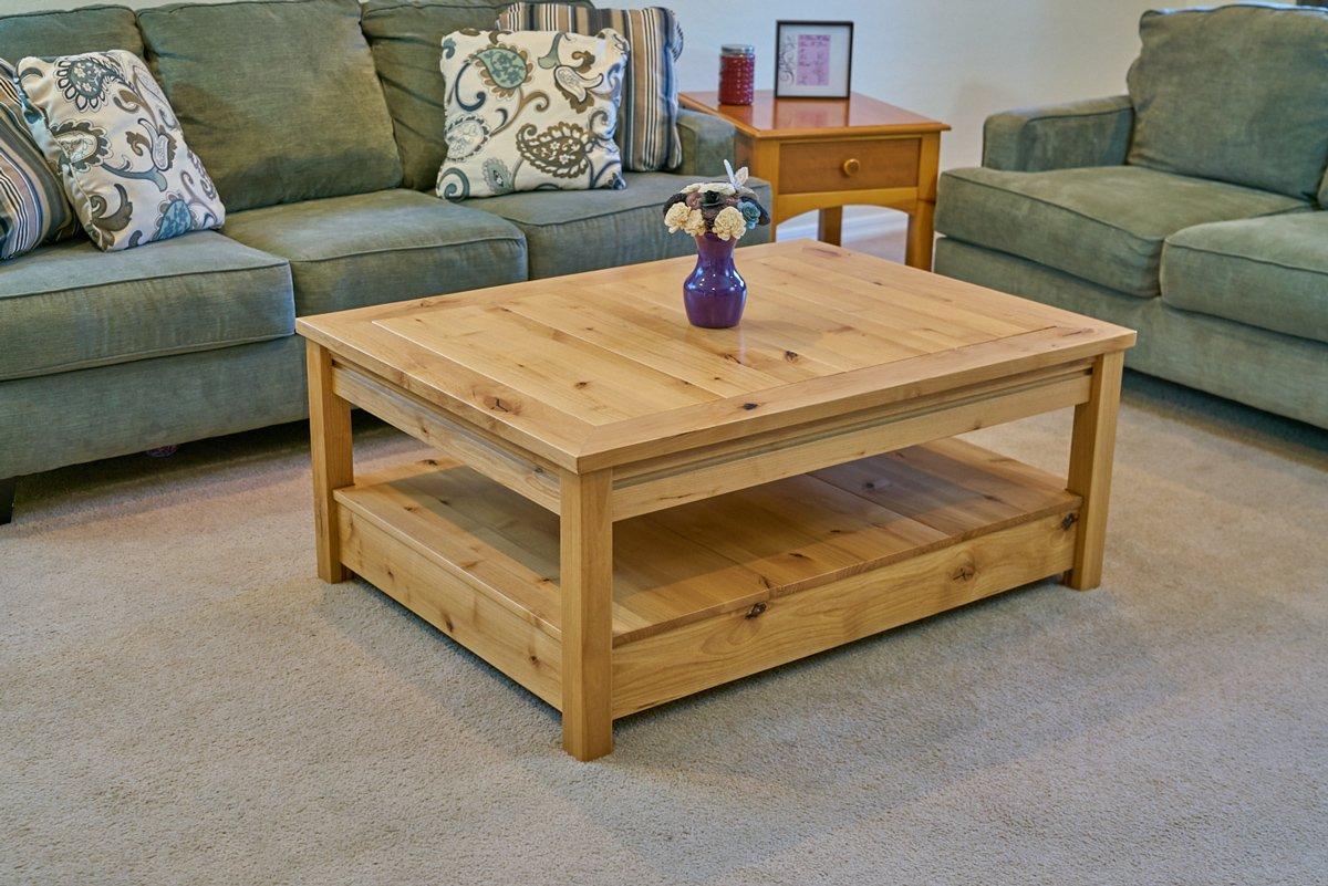 Gaming Coffee Table.Custom Hardwood Gaming Tables Uniquely Geek