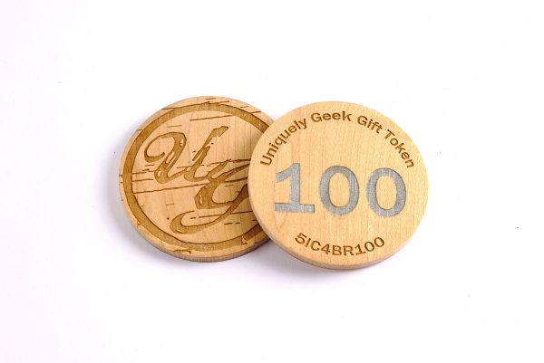 Uniquely Geek 100 Gift Token