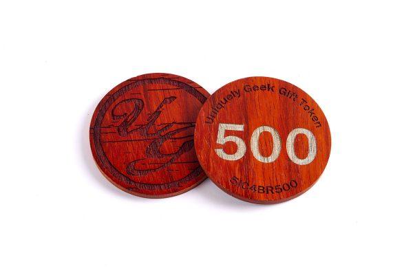 Uniquely Geek 500 Gift Token
