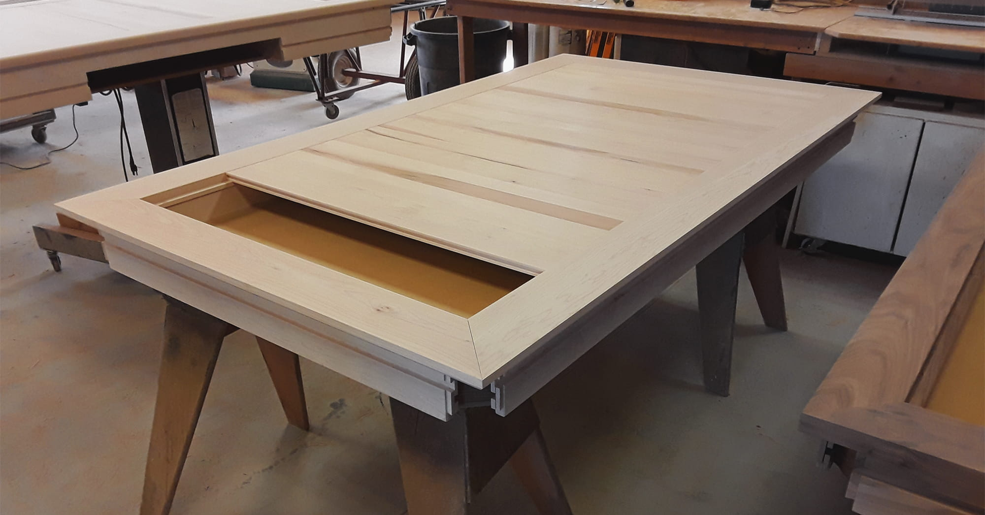 Uniquely Geek gaming table production